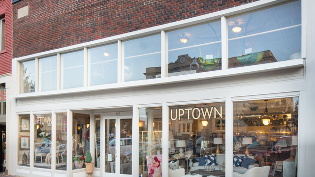 Uptown Furniture in Downtown McKinney