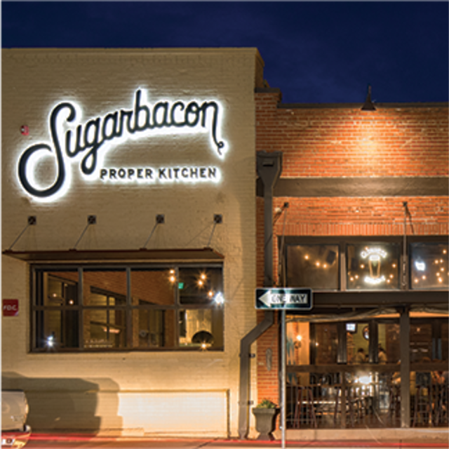 Sugarbacon in Downtown McKinney